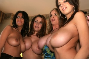 four sets of beautiful boobs 300x200 four sets of beautiful boobs