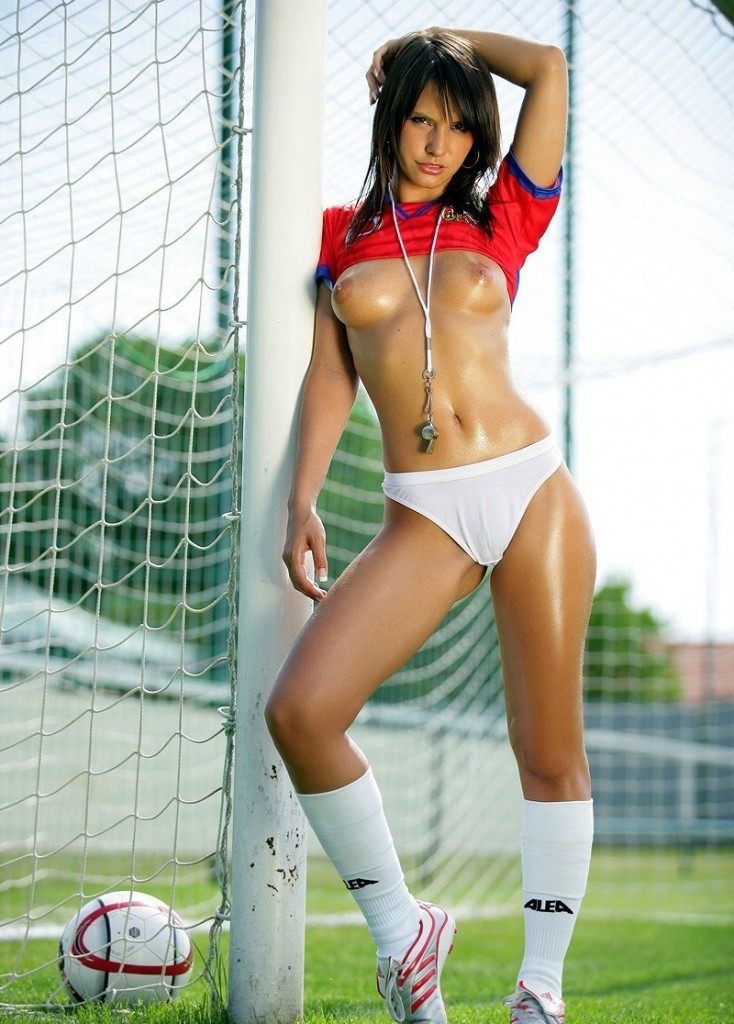 Hot girl soccer players nude