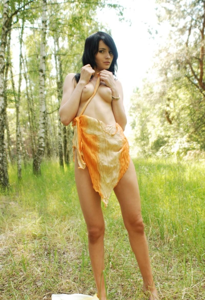 Forest nude girl Nude Photography