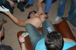 Masseur sells removed from the anus the