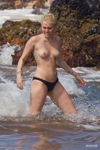 Miley Cyrus – Topless in Hawaii 17 333x500 Miley Cyrus – Hawaii