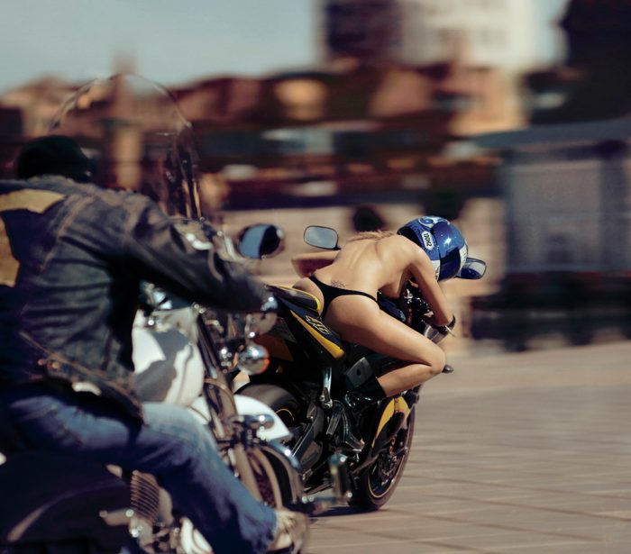 biker without a top on 700x615 biker without a top on