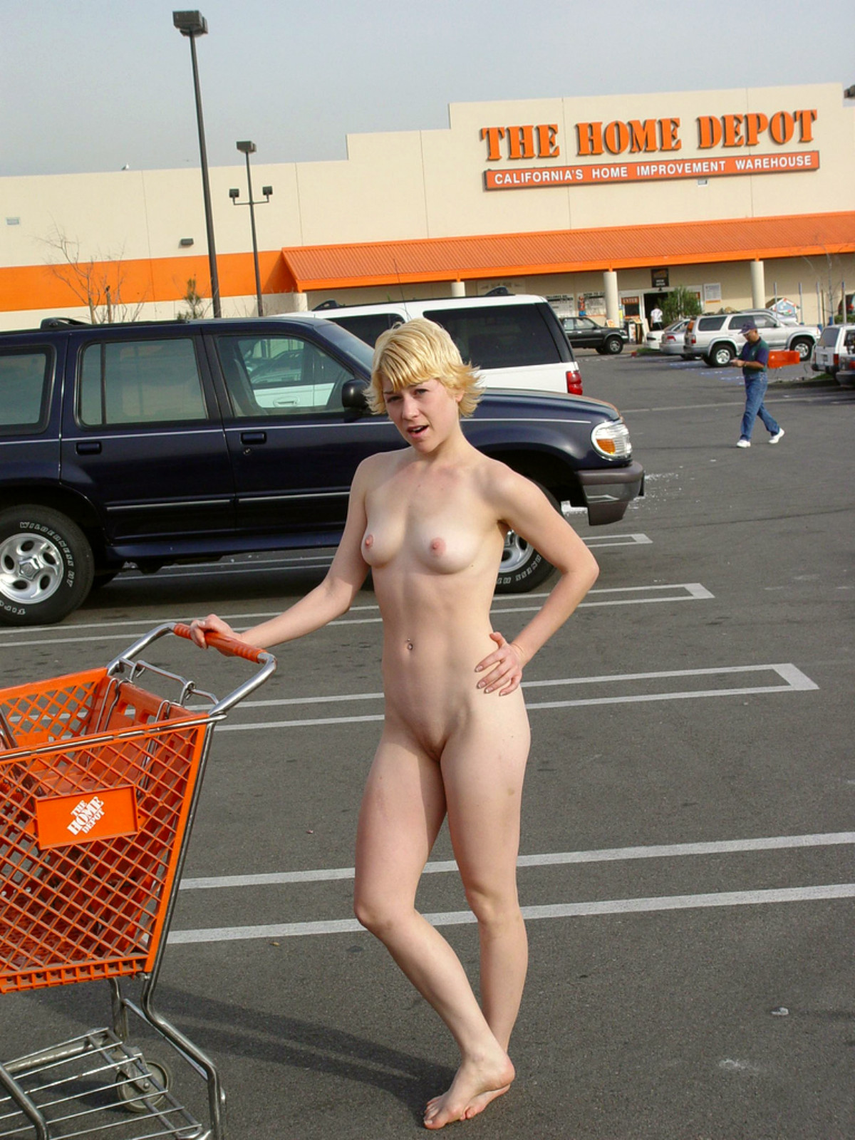 Home depot girls naked
