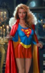Supergirl   Body Paint 031 94x150 Supergirls in Body paint