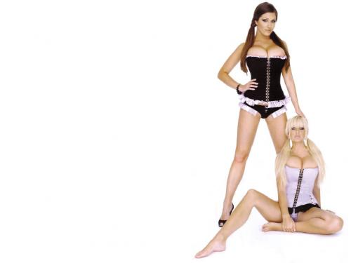 lucy and friend wallpaper.thumbnail Lucy Pinder and Friend