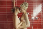 x art francesca breanne coming clean 12 sml 150x100 Two Blondes in Shower